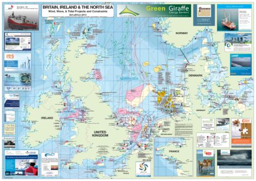 North Sea Map 2014
