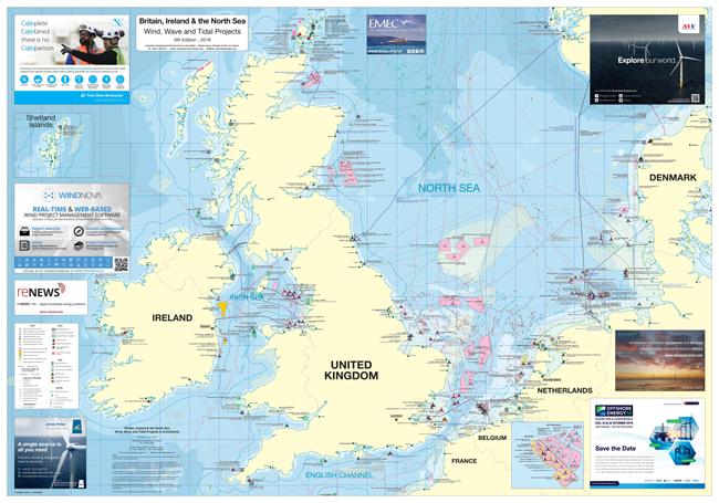 Britain, Ireland and the North Sea