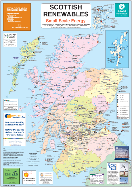 Scotland Small Scale Energy Amp Community Re Schemes La