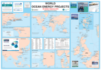 World Ocean Energy Projects Map, 2018