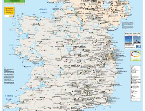 Irish BioEnergy Map – Biomass – Biogas and Biofuels