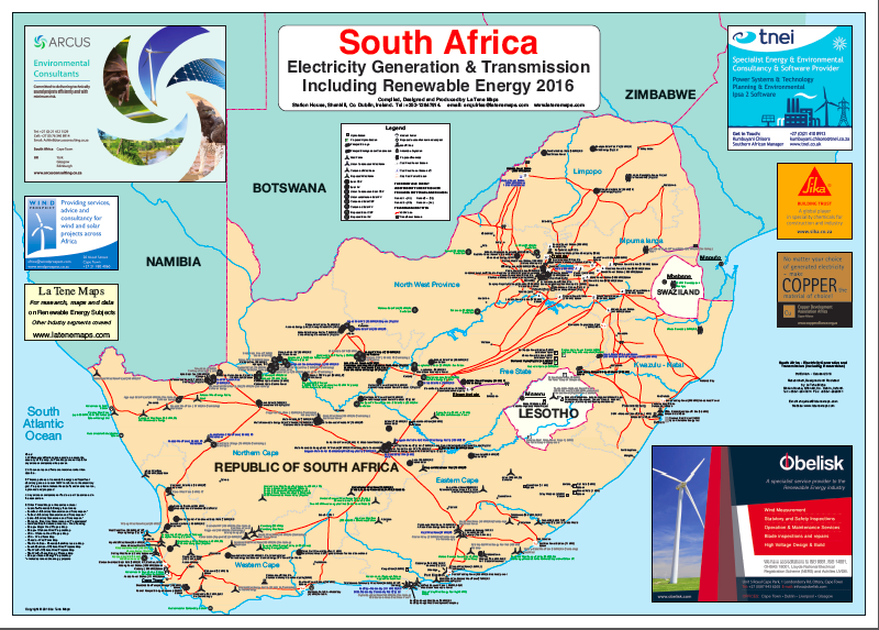South Africa - Electricity Generation and Transmission (including  Renewables)