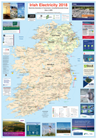 Irish Electricity Map 2018