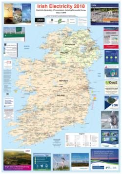 Irish Electricity Map 2018