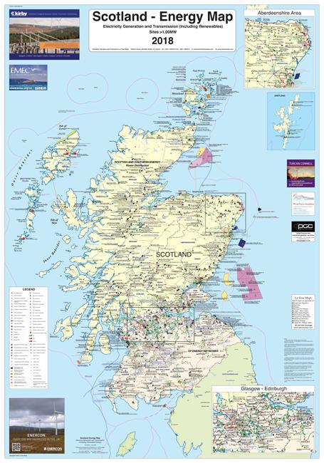 Scottish Energy Map